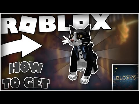 Event How To Get The Tuxedo Cat The 6th Annual Bloxys Roblox - como hacer el evento de roblox bloxys robux generator 2018
