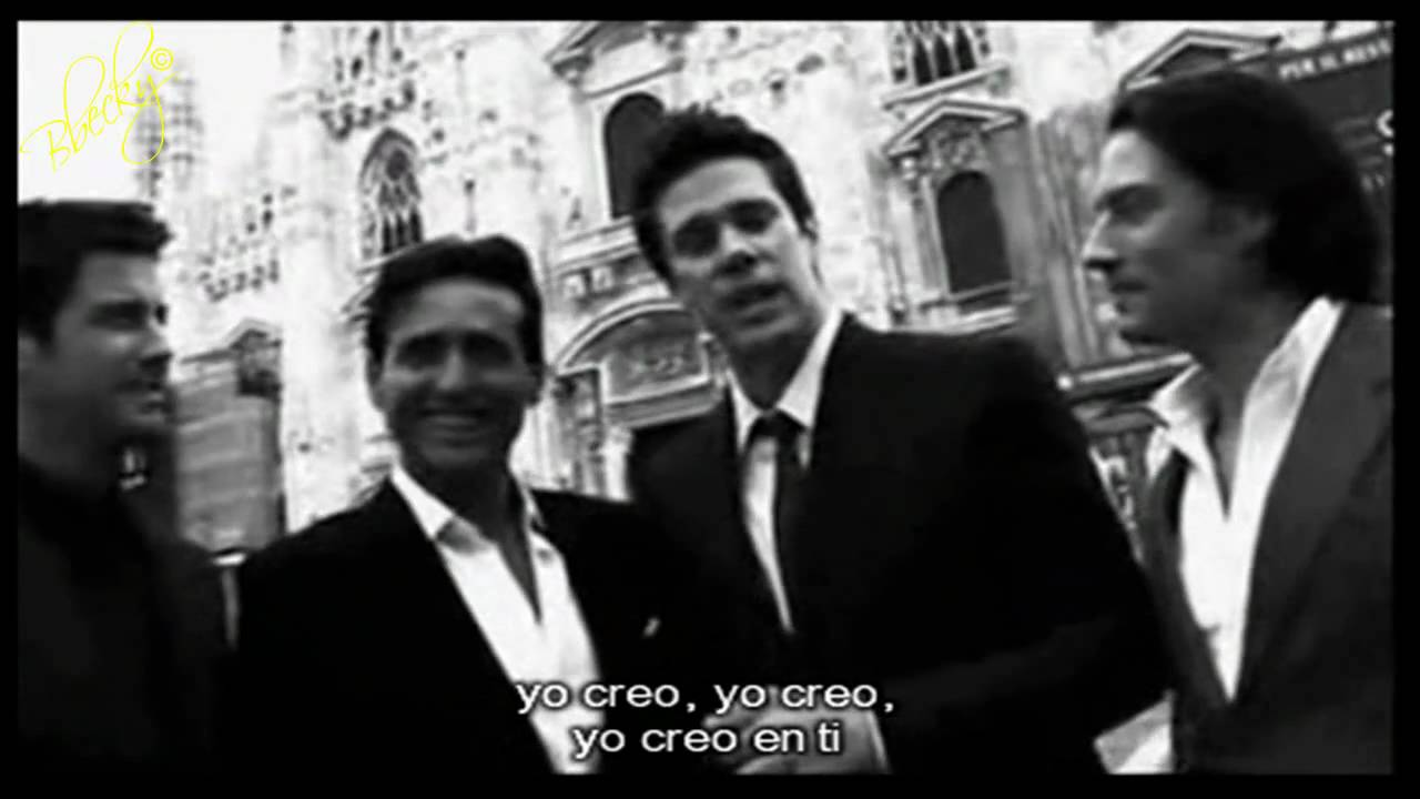 Il divo i believe in you subs espa ol youtube - Il divo i believe in you ...