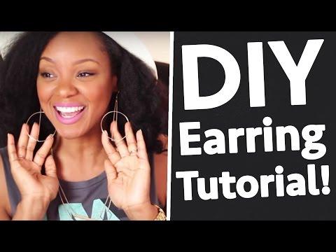 DIY Jewelry | Jewelry Making | Crafting Earrings w/Wire | BorderHammer