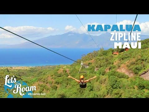 Things To Do In Maui, Hawaii - Kapalua Ziplines