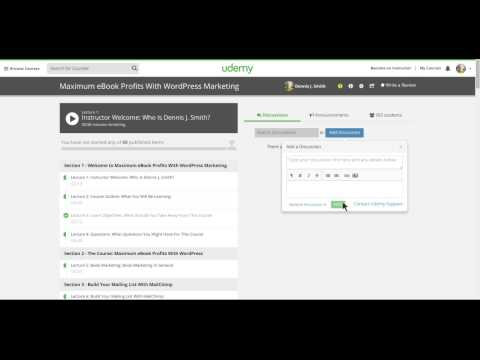 Udemy Course Discussion Forum: Ask Instructor Questions
