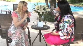 Talentos Gospel - Entrevista Vanilda Bordieri - Elaine de Jesus