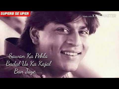 Bholi Si surat aankhon me Masti  Udit Narayan WhatsApp status video  Romantic old song 27s video  👌