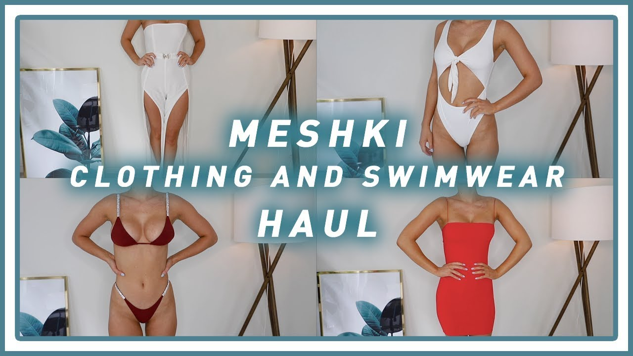 949b8401d7b1d Meshki Clothing & Swimwear Try On Haul | SHANI GRIMMOND by Shani Grimmond