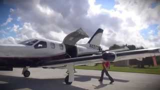 Flying with Steve in his TBM850