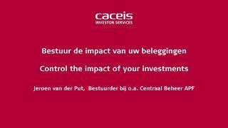 Bestuur de impact van uw beleggingen