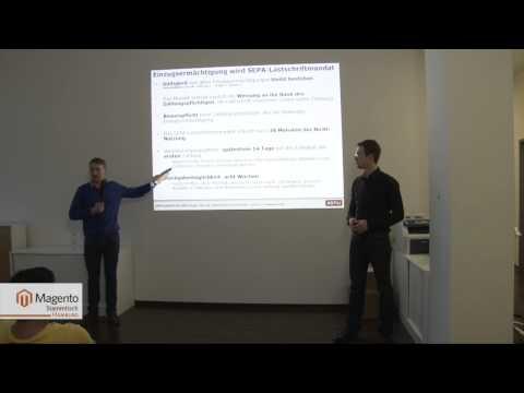 SEPA Lastschriften für Magento-Shops -- Pawel Kazakow und Kirill Kazakov (xonu EEC)