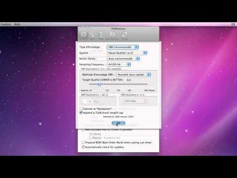 XLD: Convertisseur Audio gratuit
