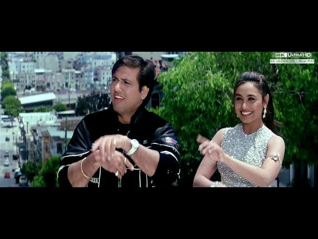 Masti Masti Sonu Nigam Alka Yagnik 4k Ultra Hd 2160p Chalo Ishq Ladaaye 2000 Songs Govinda Rani Youtube