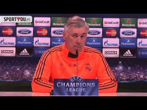 Ancelotti explica la lesión de Cristiano Ronaldo