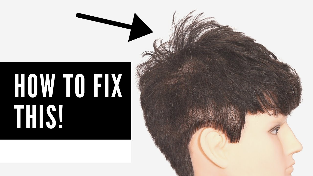 The BEST Haircuts for Hair that Sticks Up in the Back   TheSalonGuy