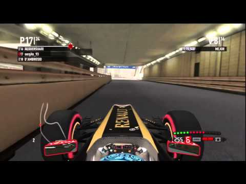 F1 2011 PS3 Mundial Cooperativo MrSergito93 con TheVicsar [Carrera Monaco]