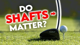DO SHAFTS MATTER?! My Driver Test Results