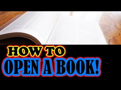 How to open a Book Not so Much
