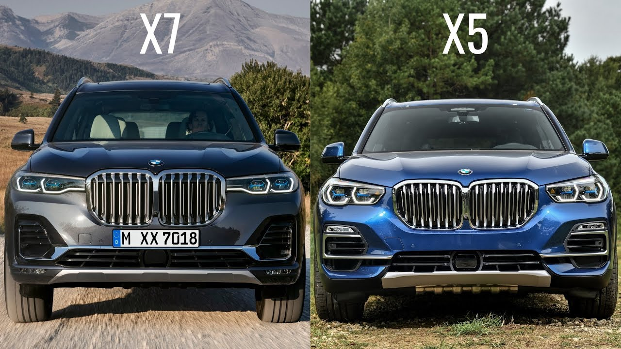 2019 Bmw X7 Vs 2019 Bmw X5 Youtube