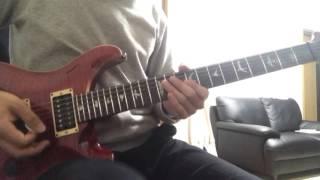 indigo la Endさんの心雨という曲のイントロギターを弾いてみました。こ...