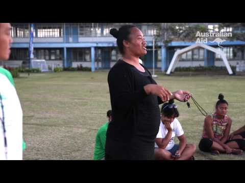 Improving health outcomes for women in Tonga through netball