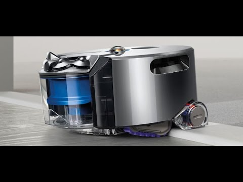 aspirateur robot de dyson 360 eye robot vacuum cleaner youtube. Black Bedroom Furniture Sets. Home Design Ideas