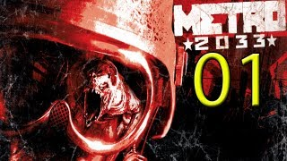 Metro 2033 detonado PC Prologo - parte 1 Vamos Jogar Gameplay Comentado
