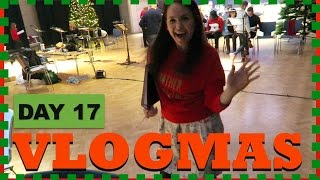 Running the Show! | DAY 17 | VLOGMAS 2016