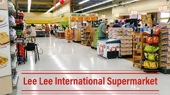 Lee Lee International Supermarket: Shopping On A Sunday Afternoon | Retail Archaeology 2