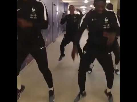 La Danse De Griezmann, Pogba, Dembélé Et Mendy ! (Naza - Putain De Merde)