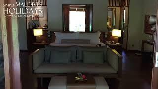 Baros Maldives - Deluxe Villa Walkthrough