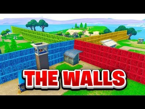 SPAWN ISLAND WALLS BATTLES in Fortnite