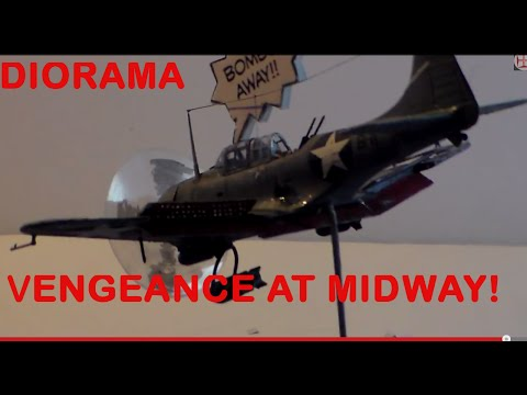 "AlexModelling ""VENGEANCE AT MIDWAY DIORAMA"""