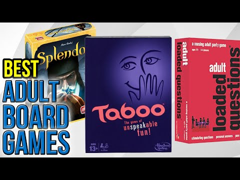 10 Best Adult Board Games 2016