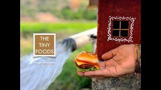 Chicken Burger | McDonald Style | E39 | The Tiny Foods