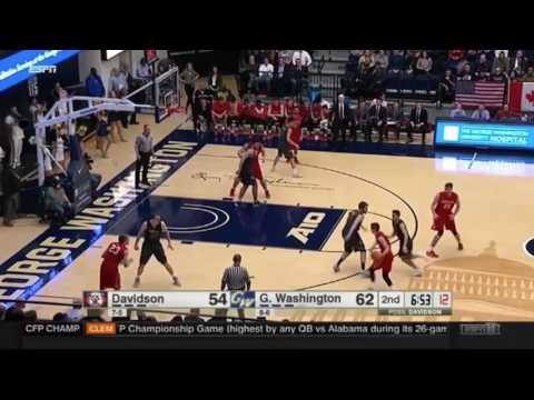 Jon Axel Gudmundsson 2016-17 Highlights - Davidson College
