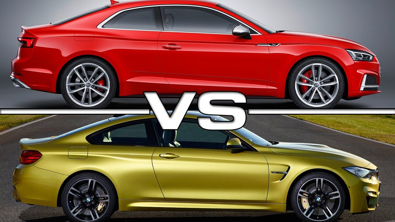 2017 audi s5 coupe vs bmw m4 coupe youtube. Black Bedroom Furniture Sets. Home Design Ideas