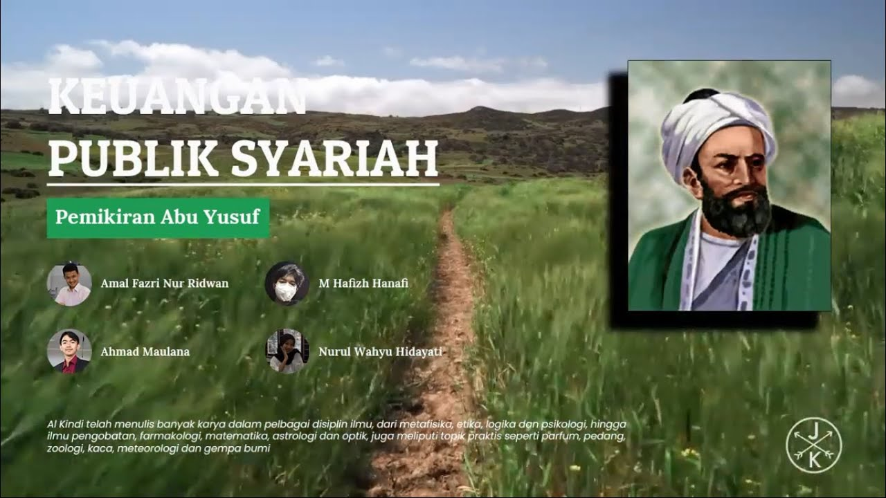 Abu Yusuf | Pemikiran Tentang Keuangan Publik Syariah ...