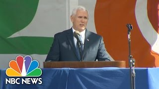 VP Mike Pence At March For Life: Society Judged 'By How We Care For Our Most Vulnerable' | NBC News