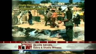 Noam Chomsky  Sabra & Shatila Massacre That Forced Sharon's Ouster Recalls Worst of Jewish Pogroms
