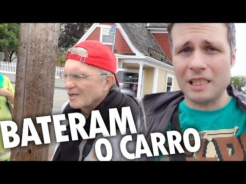 "BATERAM O CARRO NA CIDADE DO ""ONCE UPON A TIME"" - Vlog Ep.52"