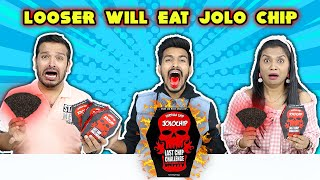 Looser Will Eat Jolo Chip Challenge | World's Spiciest Chip Challenge