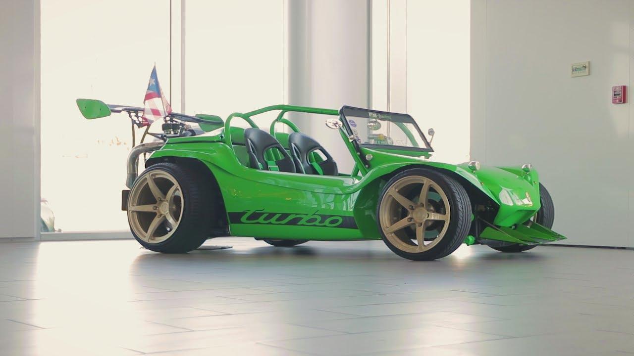 Crazy Turbocharged Aircooled Dune Buggy