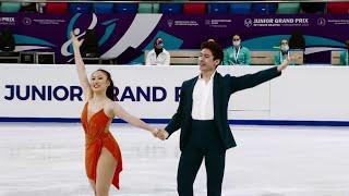 Анжела Линг Калеб Вейн Ритм танец Танцы на льду Красноярск Гран при по фигурному катанию среди