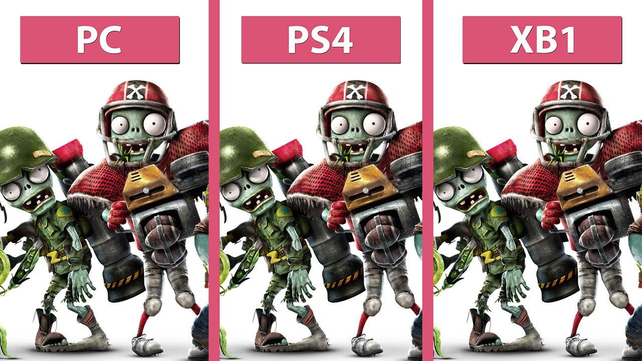 plants vs zombies garden warfare 2 pc vs ps4 vs xbox one graphics comparison youtube - Plants Vs Zombies Garden Warfare 2 Pc