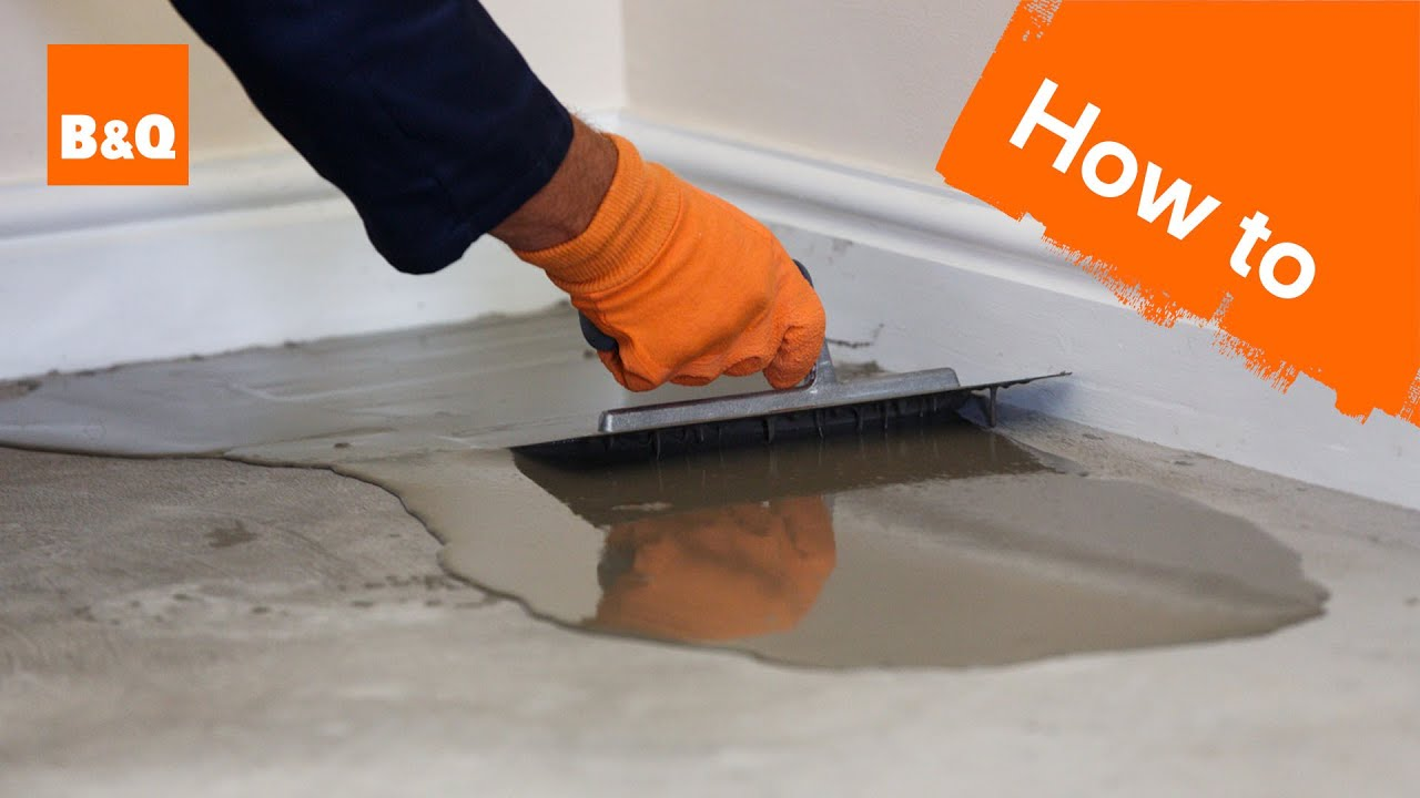 How to level a concrete floor part 1 preparation youtube for Concrete floor leveling
