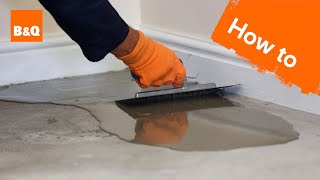 How To Level A Concrete Floor Part 1: Preparation