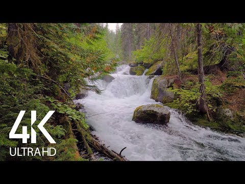 8 HOURS White Noise - Relaxing Sound Of The Mountain River For Sleeping - Episode #1