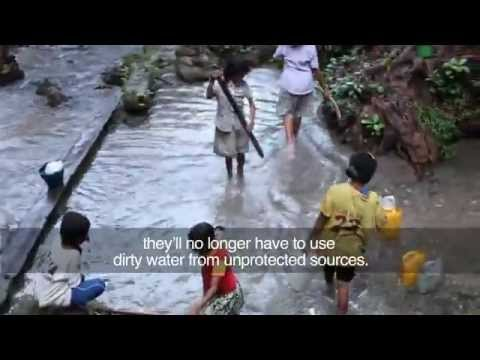 The Clean Water Access Initiative  Project Indonesia  -  Action Against Hunger