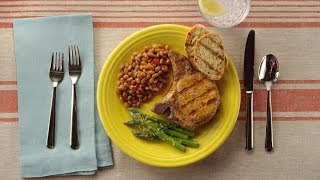 Bush's® DINspiration: Hot & Spicy Grilled Pork Chops