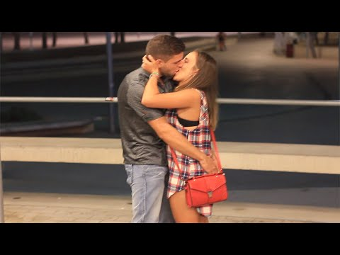 KISSING PRANK - MAGALUF STRIP NIGHT EDITION (GONE WILD)