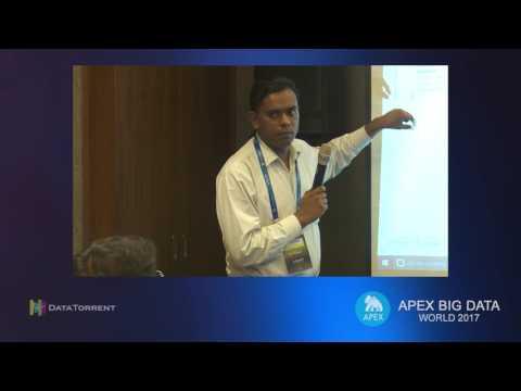 Building Stream-Analytic Ecosystems... (Lightning Talks) @ Apex Big Data World 2017, Pune