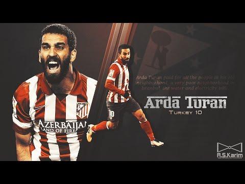 ARDA TURAN   Goals, Skills, Assists   Atlético Madrid   2014 2015 HD