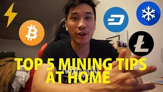 Top 5 Crypto Farming Tips at Home